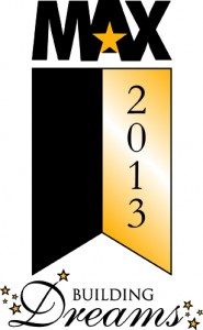 MAX Awards 2013 logo